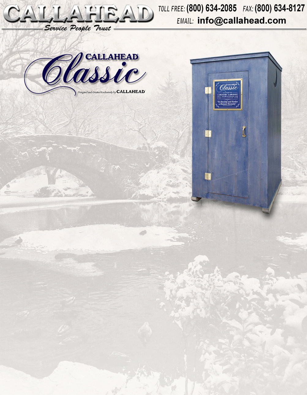 The Classic Portable Toilet
