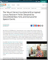CALLAHEAD Portable Restroom Trailer The Mount Vernon Press Release