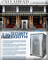 A16 SECURITY GUARD BOOTH