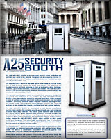 A25 SECURITY GUARD BOOTH