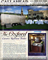 THE OXFORD Luxury Restroom Trailer
