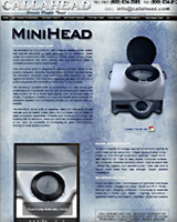 The Mini Head Portable Toilet
