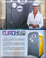 The EUROHEAD Special Event Portable Toilet