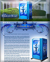 THE FOUNTAIN HEAD PORTABLE TOILET