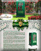 THE GARDEN HEAD PORTABLE TOILET