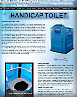 THE HANDICAP Portable TOILET