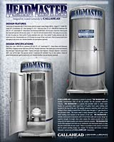 The HEADMASTER Portable Toilet | Portable Restroom with Heat and Air Conditioning