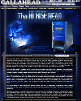 The Hi-Rise Head Portable Toilet
