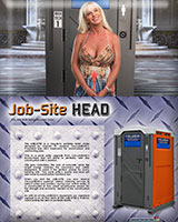 The Job Site Head Porta Potty