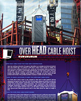 The Over Head Cable Hoist