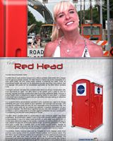 The RED HEAD Portable Toilet | Portable Restroom