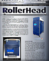 The RollerHead Portable Toilet | Portable Restroom for High Rise