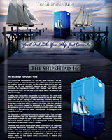 THE SHIPSHEAD 16 PORTA POTTY