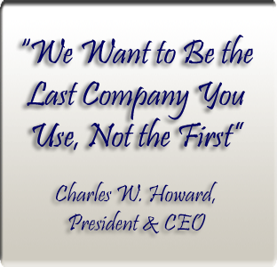 We Want to be the Last Company You Use, not the First