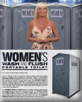 Women's Wash and Flush