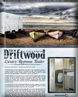 The Driftwood Restroom Trailer