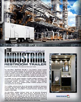 The Industrial Restroom Trailer