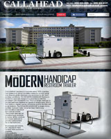MODERN HANDICAP ACCESSIBLE RESTROOM TRAILER