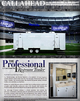 The PROFESSIONAL Restroom Trailer