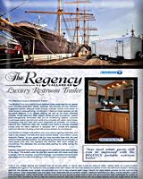 THE REGENCY Luxury Restroom Trailer