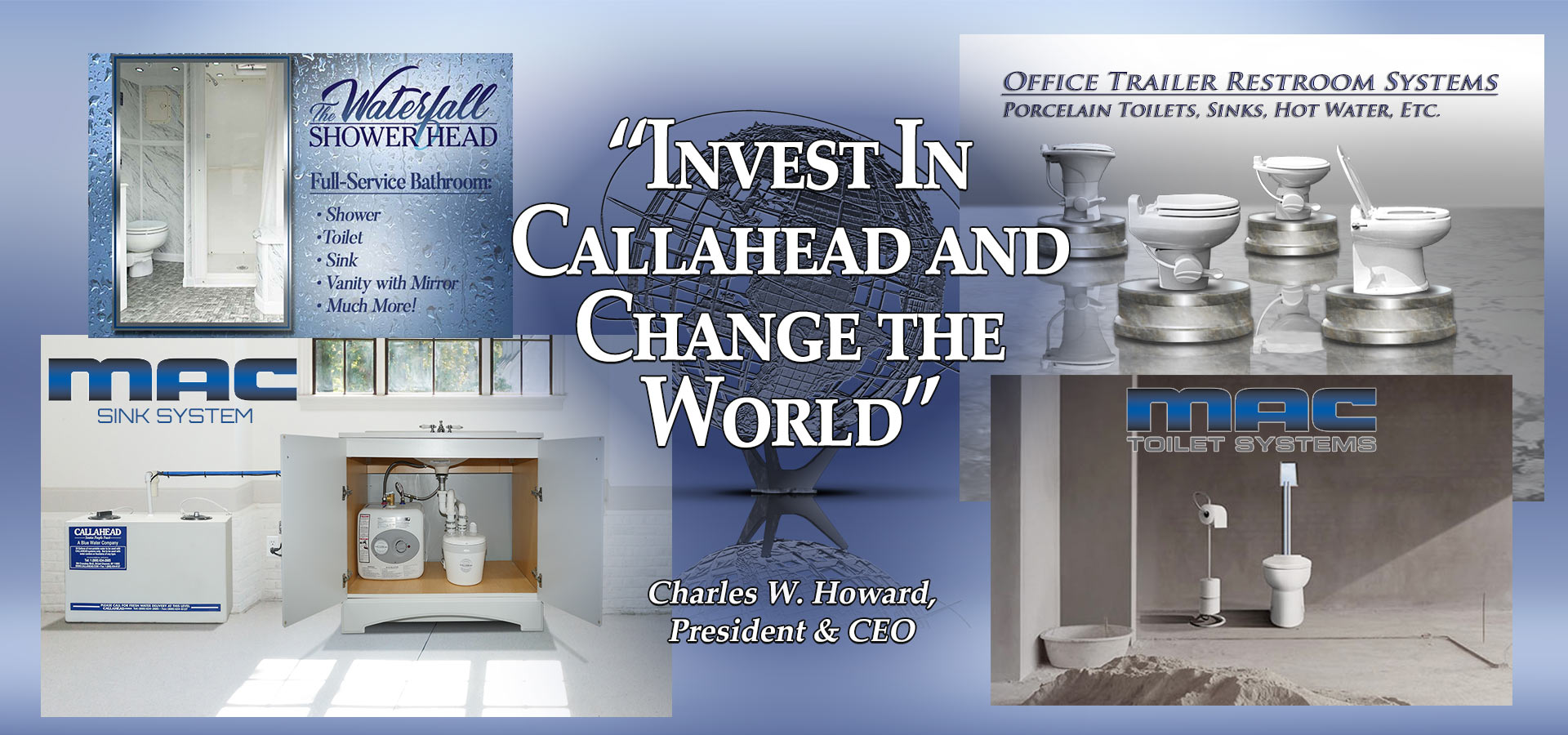Invest In Callahead And Change The World - Charles W. Howard, President and CEO