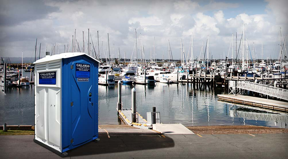 39 The Blue White Construction Flush 39 Portable Toilet By Callahead