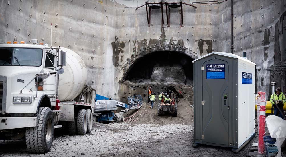 Job Site Portable Toilet