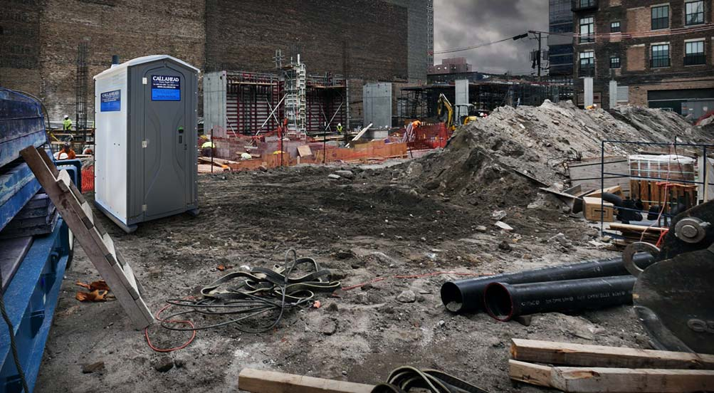 Portable Toilet for Construction Job Sites