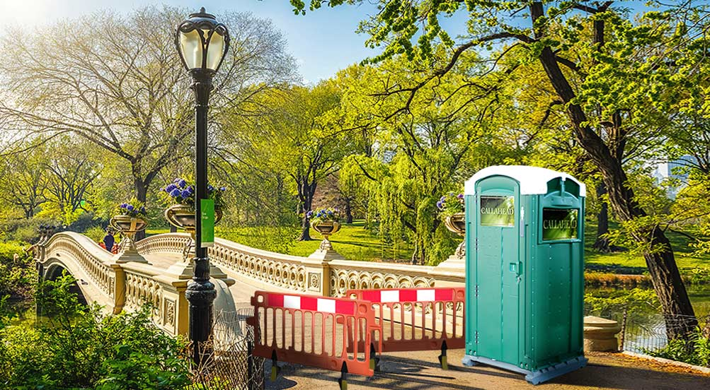 The Green Head Portable Restroom