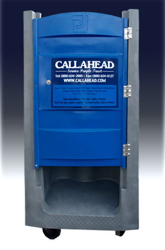 High Rise Head Porta Potty -- Sturdy, Yet Mobile!