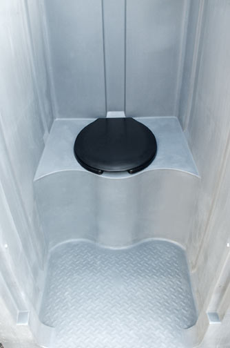 The High Rise Head Portable Toilet Porta Potty For Tight