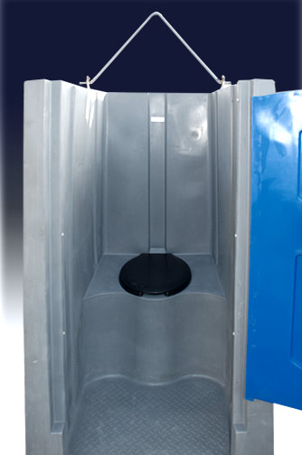 High Rise Head Porta Potty with Hoist Hook
