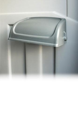 Job-Site Dual Toilet Paper Holder