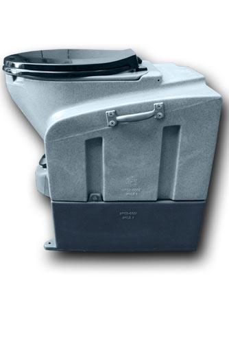 MiniHead Porta Potty -- Compact, Yet Sturdy Construction!