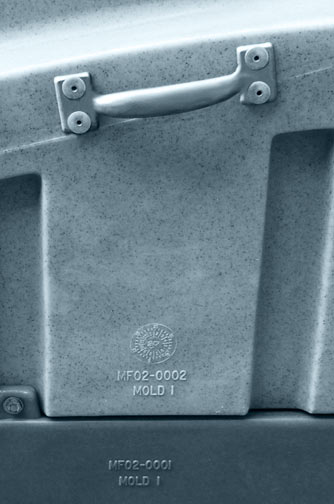 MiniHead Porta Potty inside