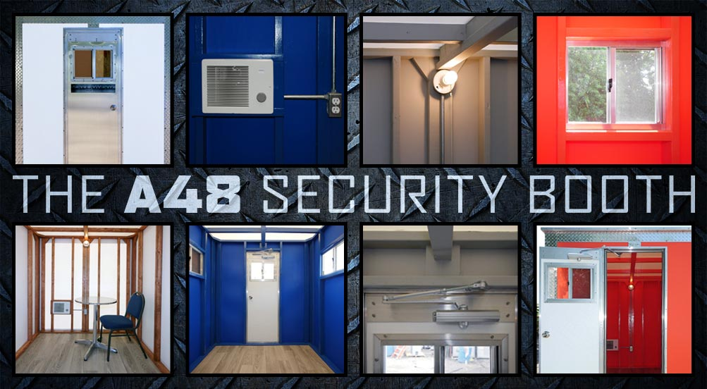 A48 Security Shed by CALLAHEAD