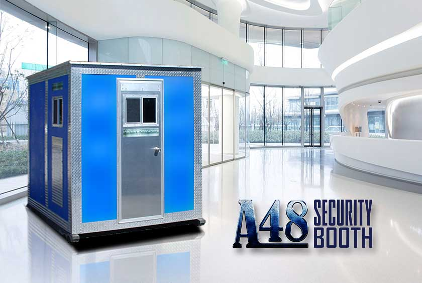 The A48 Security Booth By Callahead 1 800 634 2085