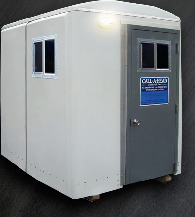 The Guard Shed 48 Portable Security Guard Booth Rental