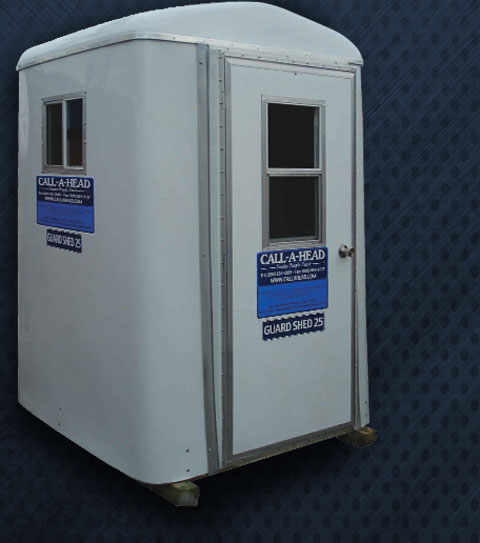 The Guard Shed 25 Portable Security Guard Booth Rental