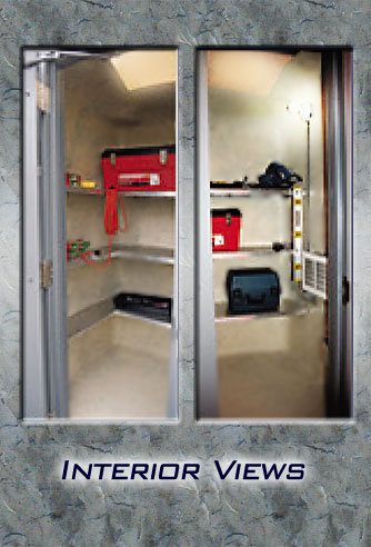 Portable Shed Interior View