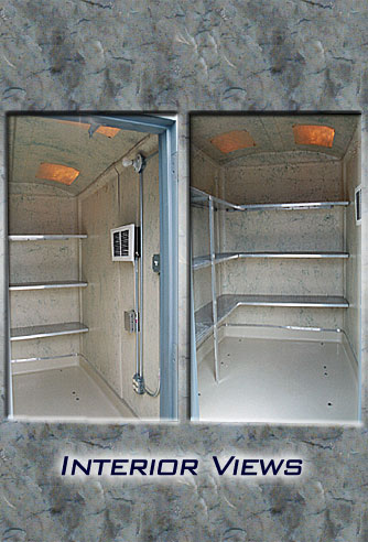 Portable Shed 48 Interior View