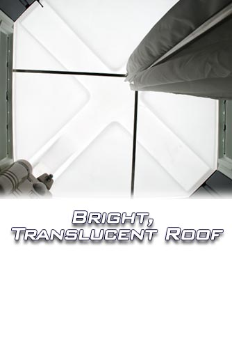 Translucent Roof for Brightness