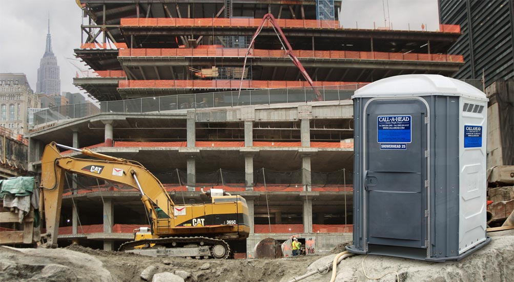 Portable Shower for High Rise construction