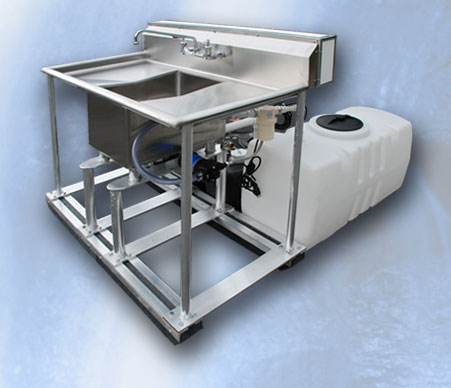 The WaterMaster 100 Stainless Sink