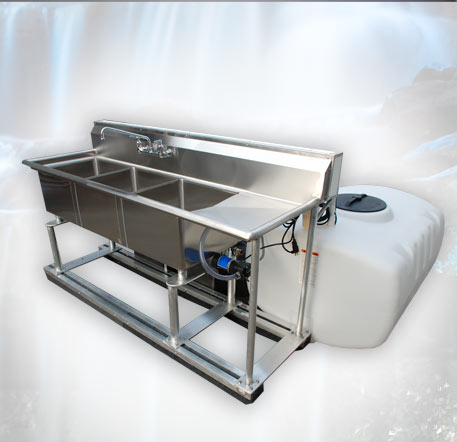 Portable Stainless Sink by CALLAHEAD