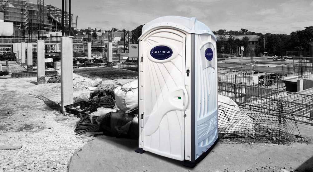 London Telephone Booth Inspired Portable Toilet