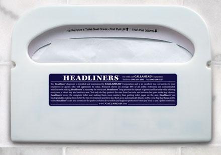 Headliners Porta Potty Seat Covers