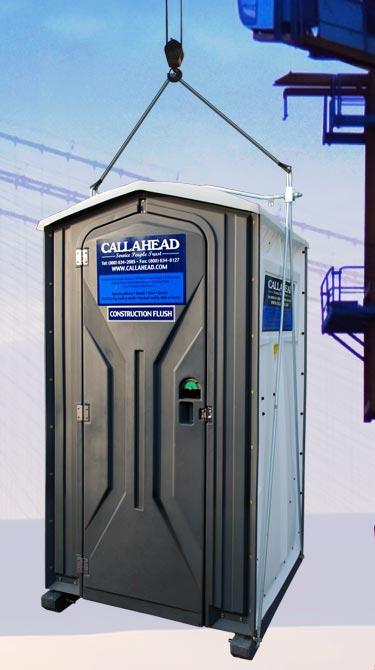 Steel Sling Hoist for Portable Toilets