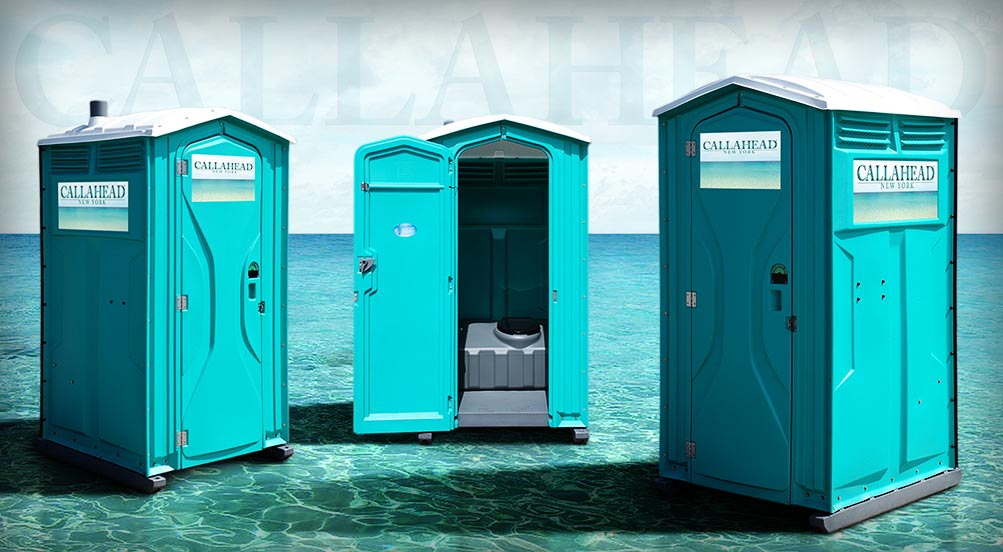 The Aqua Head Portable Toilet in New York