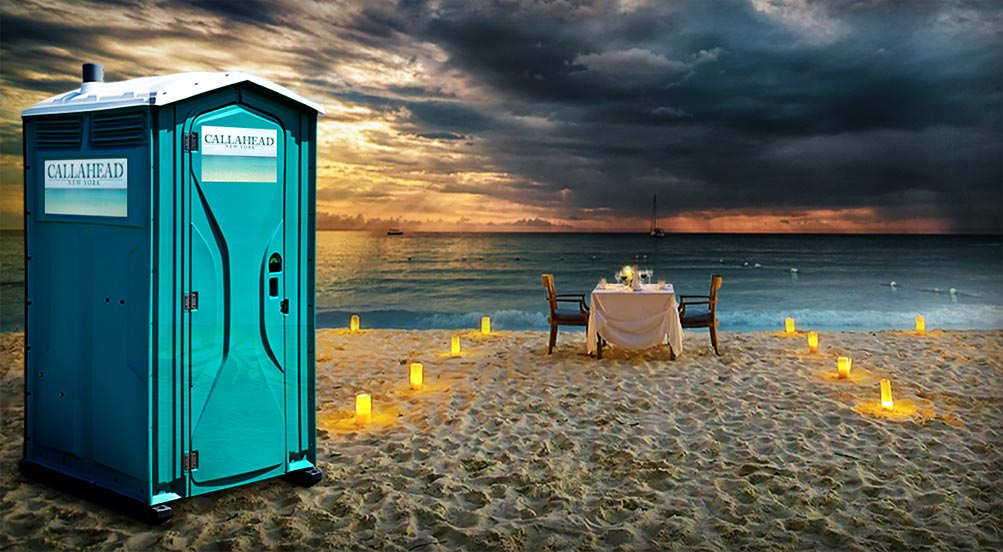 The Aqua Head Portable Restroom for Movie Crews